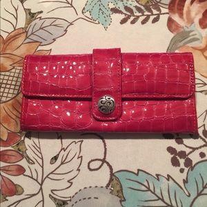 Brighton bright pink wallet